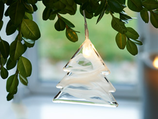 Pendentif LED pour arbre de Noël Agnes Star
